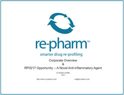 re-pharm - Smarter Drug Re-Profiling
